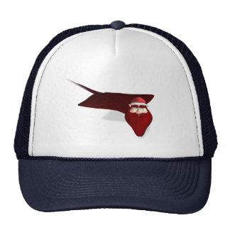 Weird Santa Manta Trucker Hat