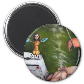 Weird Science 2 Inch Round Magnet