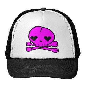 Weird Skull Goth Kawaii StyPINK Hat