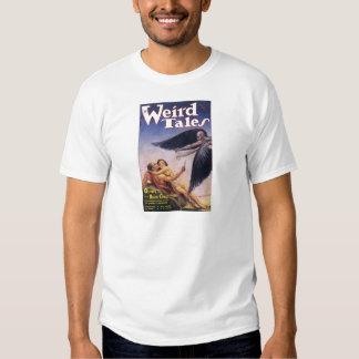 weird tales art shirt