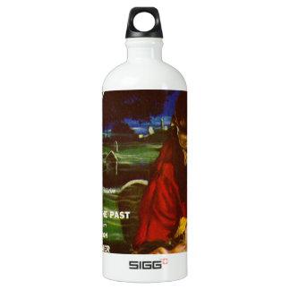 weird tales art water bottle