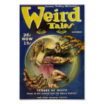 Weird Tales Comic Poster December1