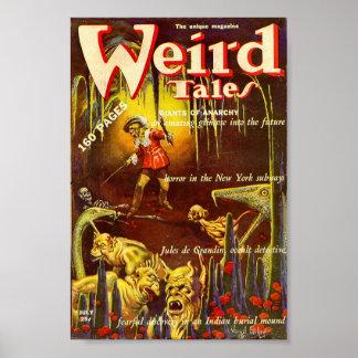 Weird Tales Comic Poster July1