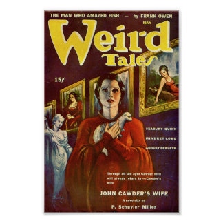 Weird Tales Comic Poster May2