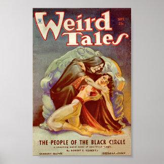 Weird Tales Comic Poster September3