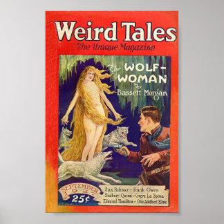 Weird Tales Comic Poster September 1927