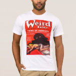 WEIRD TALES Cool Vintage Pulp Magazine Cover Art T-Shirt