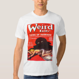 WEIRD TALES Cool Vintage Pulp Magazine Cover Art Tee Shirt