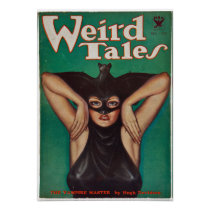 Weird Tales -- The Vampire Master Poster