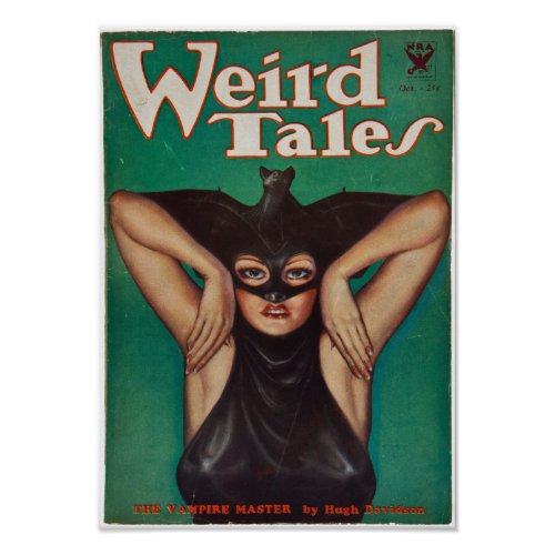 Weird Tales -- The Vampire Master