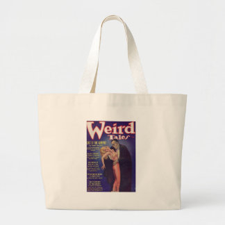 Weird Tales Vampire Comic Book Tote Bags