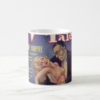 Weird Tales Vampire Comic Book Mug