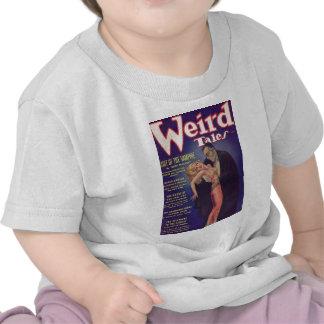 Weird Tales Vampire Comic Book Shirts