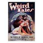 Weird Tales volume 24 number 03 September 1934 Poster