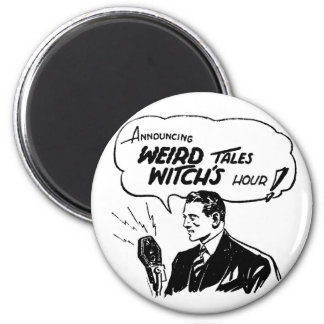 Weird Tales Witches Hour 2 Inch Round Magnet