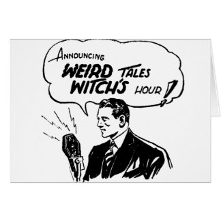 Weird Tales Witches Hour Card