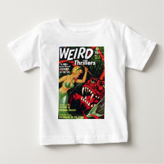 Weird Thrillers - Princess of the Sea Baby T-Shirt