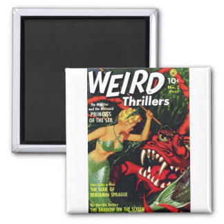 Weird Thrillers - Princess of the Sea Refrigerator Magnets