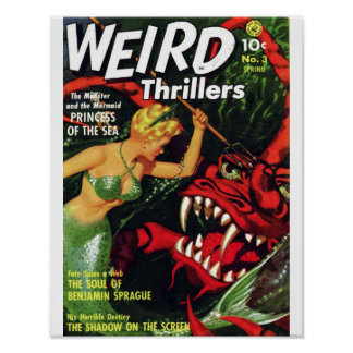 Weird Thrillers - Princess of the Sea Print