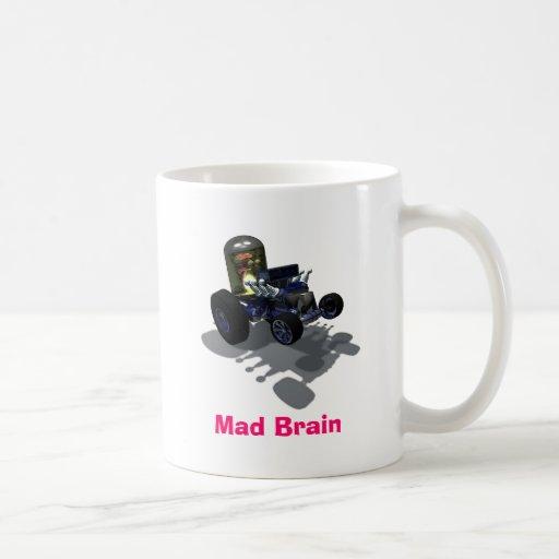 Weird Wheels Mad Brain Mug