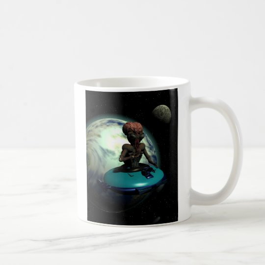 Weird Wheels Outa This World Mug