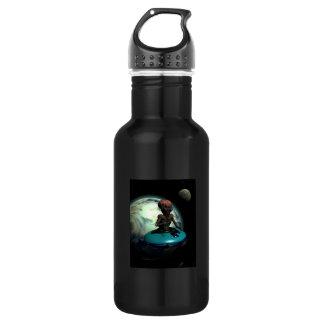 Weird Wheels Outa This World Water Bottle
