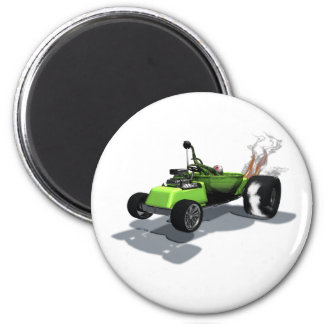 Weird Wheels Thing Mobile Magnet