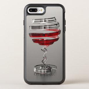 size 40 ac475 11df2 Weird Wine Glass OtterBox Symmetry iPhone 8 Plus/7 Plus Case