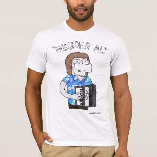 """Weirder Al"" in Blue T-Shirt"