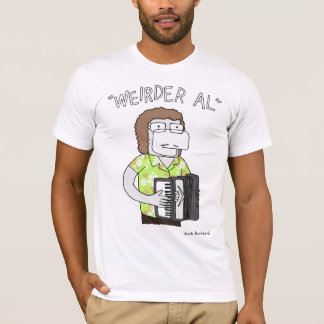 """Weirder Al"" In Lime T-Shirt"