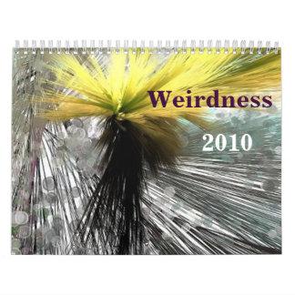 Weirdness 2010 calendars