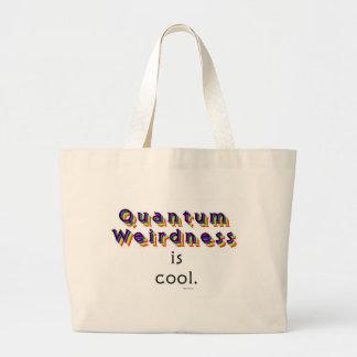 Weirdness de Quantum Bolsa Tela Grande