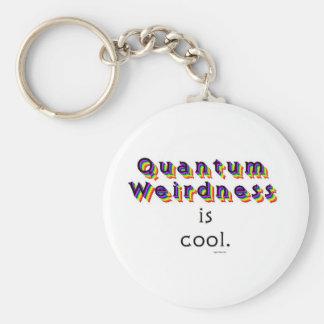 Weirdness de Quantum Llavero Redondo Tipo Pin