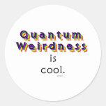Weirdness de Quantum Pegatinas Redondas