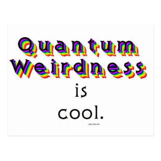 Weirdness de Quantum Postales