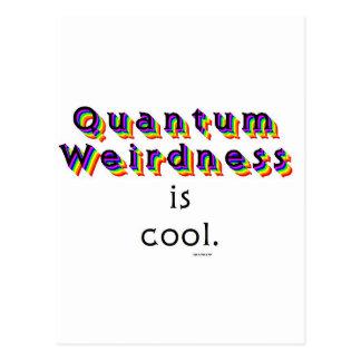 Weirdness de Quantum Tarjeta Postal