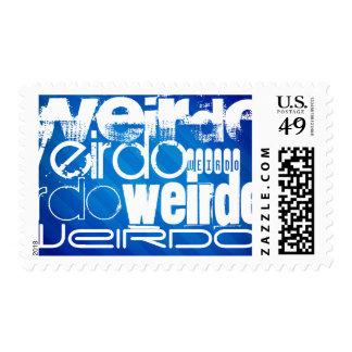 Weirdo; Royal Blue Stripes Stamp