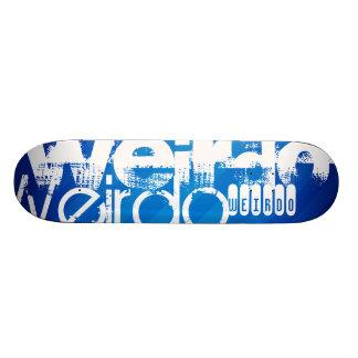 Weirdo; Royal Blue Stripes Skate Decks