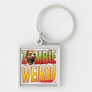 Weirdo Zombie Head Key Chain