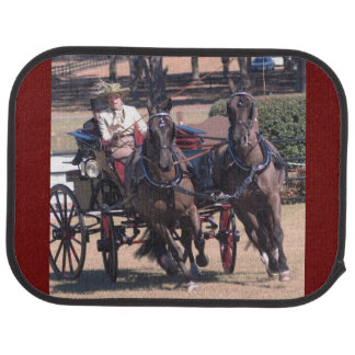 Weirsdale Florida Carriage Driving Horse Show Car Floor Mat