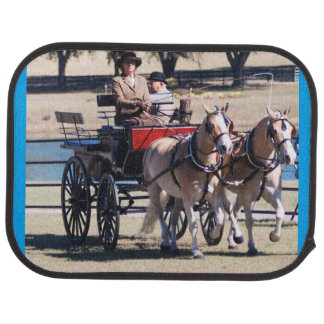 Weirsdale Florida Carriage Driving Horse Show Car Mat