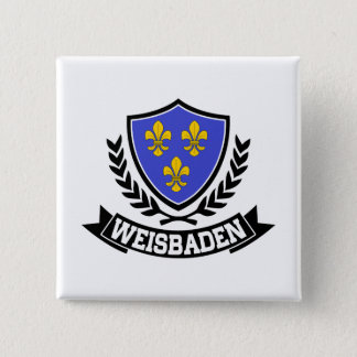 Weisbaden Germany Button