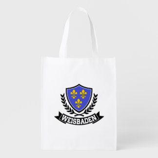 Weisbaden Germany Grocery Bag