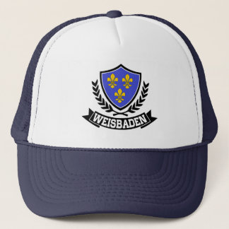 Weisbaden Germany Trucker Hat