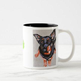 Weisbrot's Buddy Two-Tone Coffee Mug