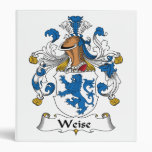 Weise Family Crest Binders