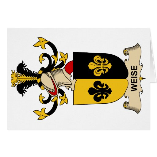Weise Family Crest Cards