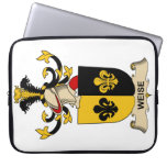 Weise Family Crest Computer Sleeves