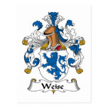 Weise Family Crest Post Cards