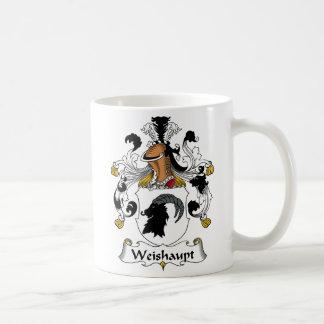 Weishaupt Family Crest Coffee Mug